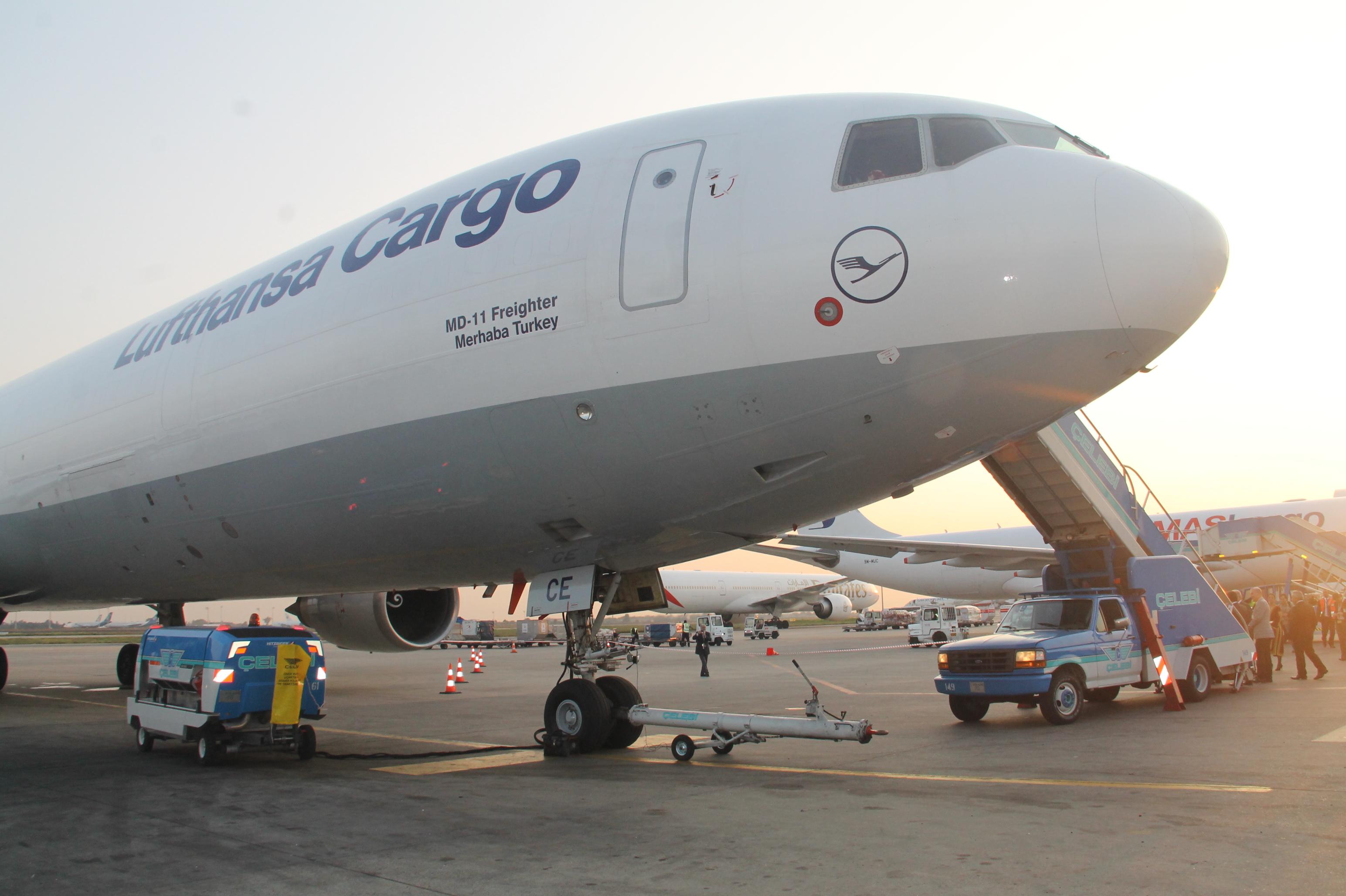 Lufthansa'nın yeni kargo uçağı Merhaba Turkey galerisi resim 2