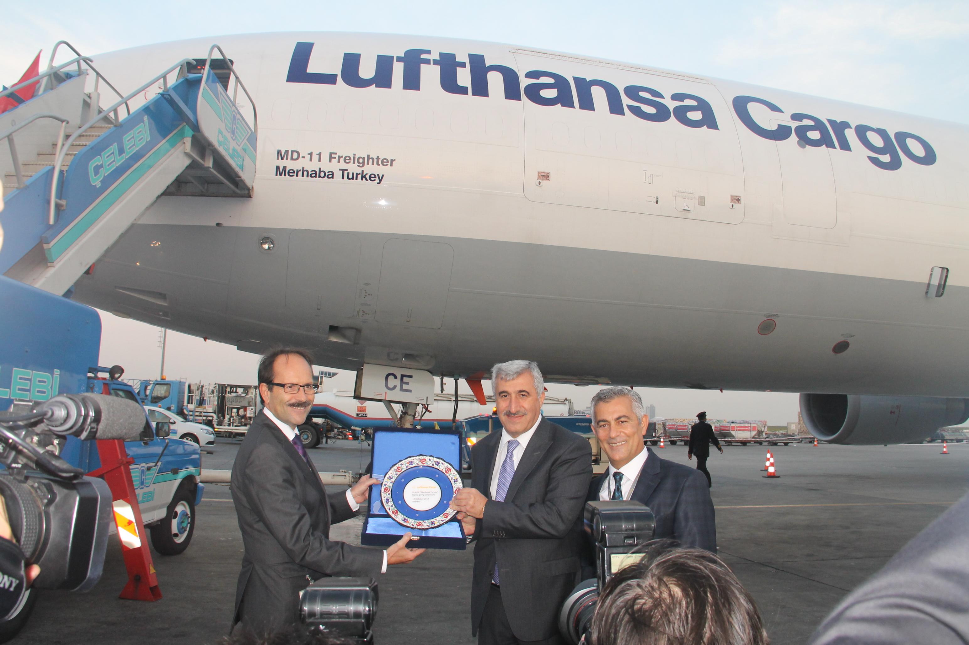 Lufthansa'nın yeni kargo uçağı Merhaba Turkey galerisi resim 7