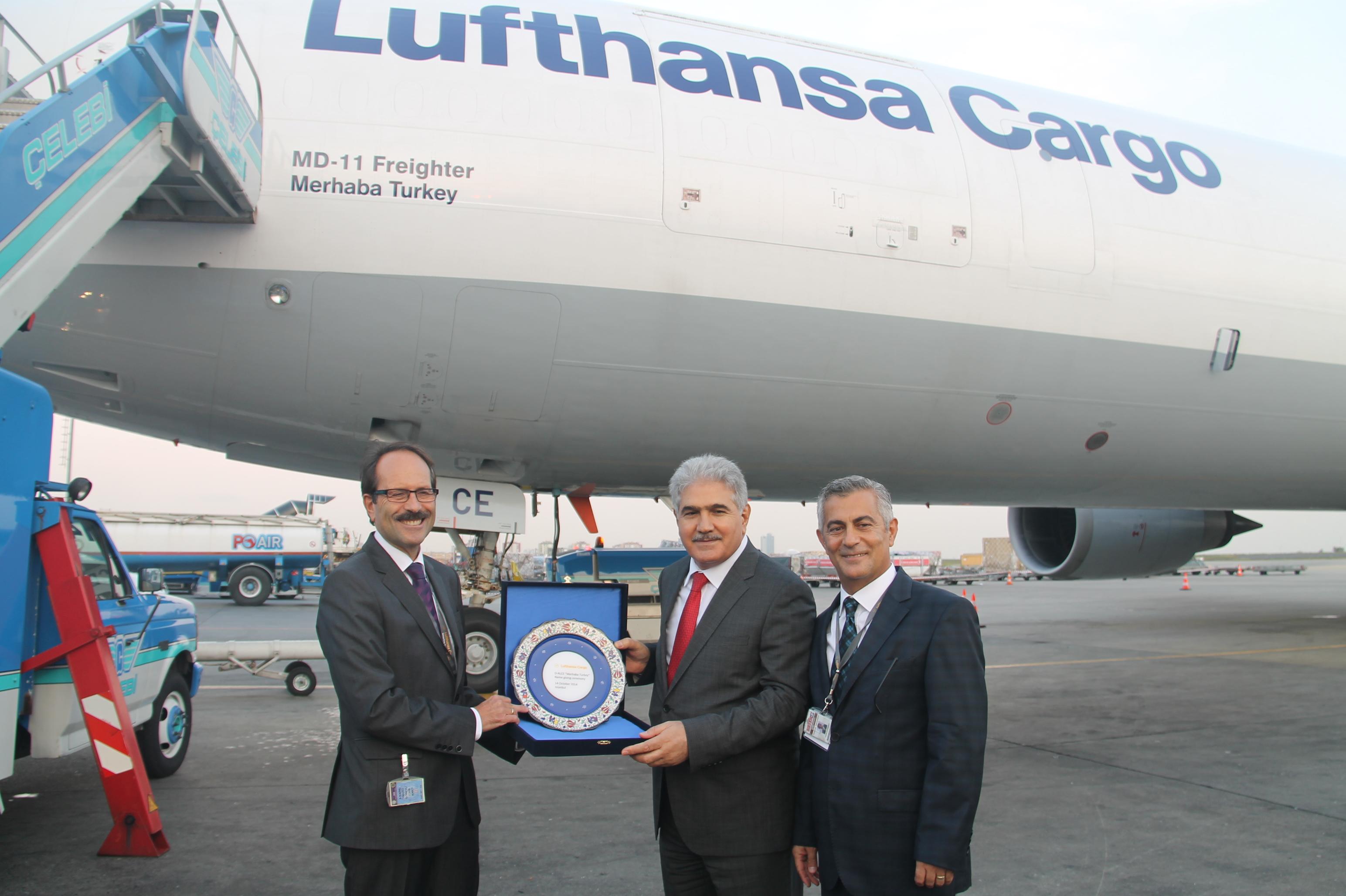 Lufthansa'nın yeni kargo uçağı Merhaba Turkey galerisi resim 9