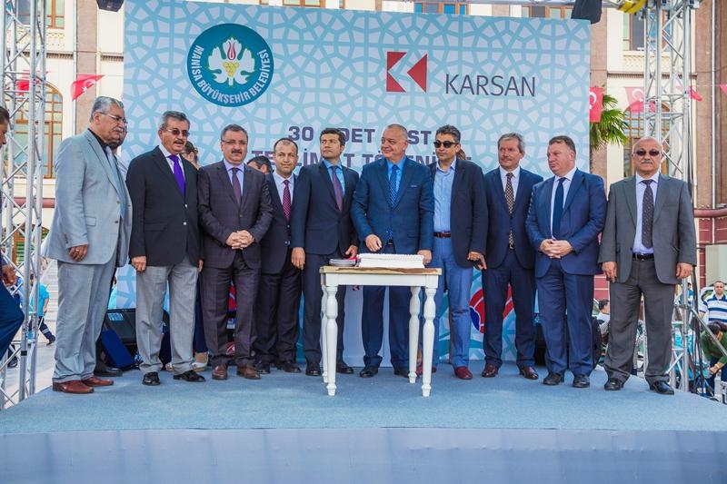 Manisa'nın ulaşımı Karsan'a emanet galerisi resim 11