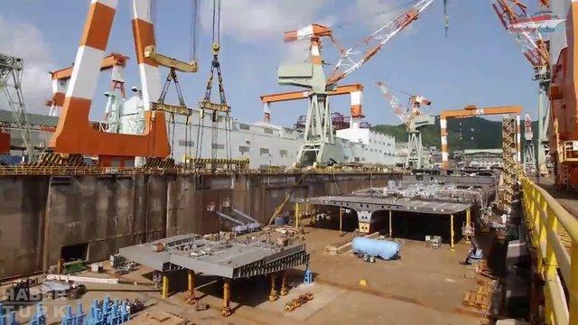 Devasa gemiler böyle yapılıyor! galerisi resim 15