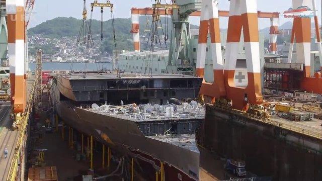 Devasa gemiler böyle yapılıyor! galerisi resim 19
