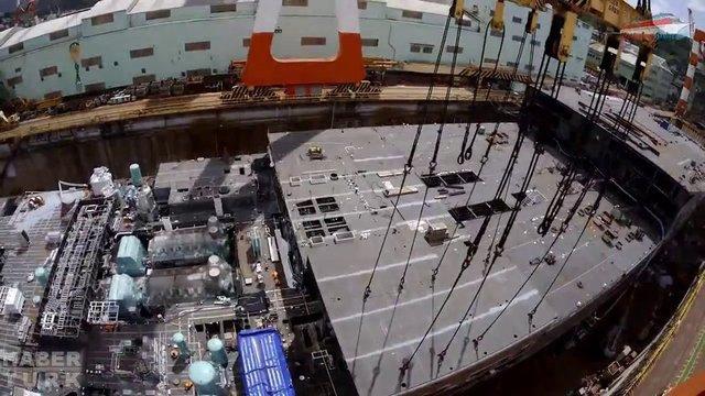 Devasa gemiler böyle yapılıyor! galerisi resim 20