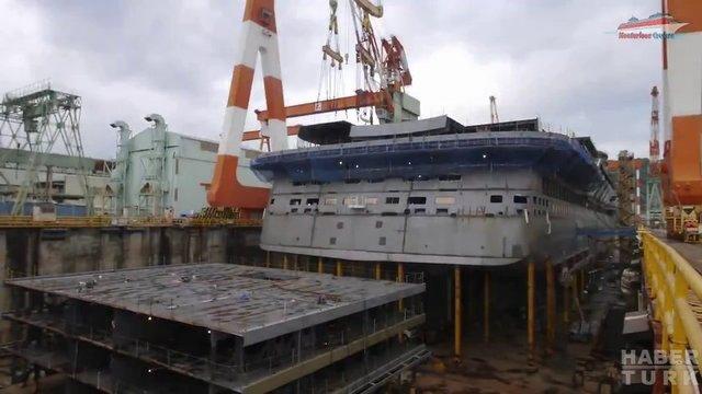 Devasa gemiler böyle yapılıyor! galerisi resim 29
