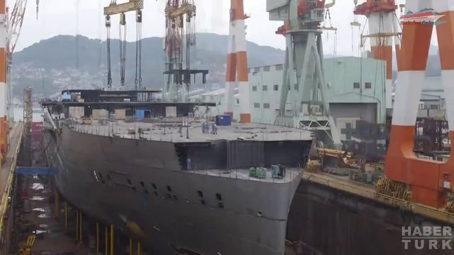 Devasa gemiler böyle yapılıyor! galerisi resim 31
