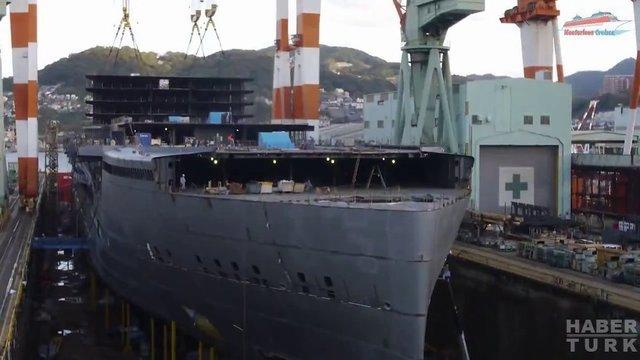 Devasa gemiler böyle yapılıyor! galerisi resim 34