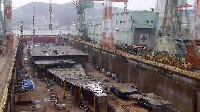 Devasa gemiler böyle yapılıyor! galerisi resim 5