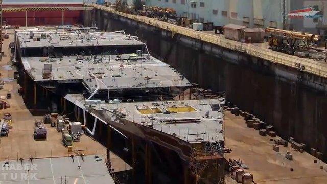 Devasa gemiler böyle yapılıyor! galerisi resim 7