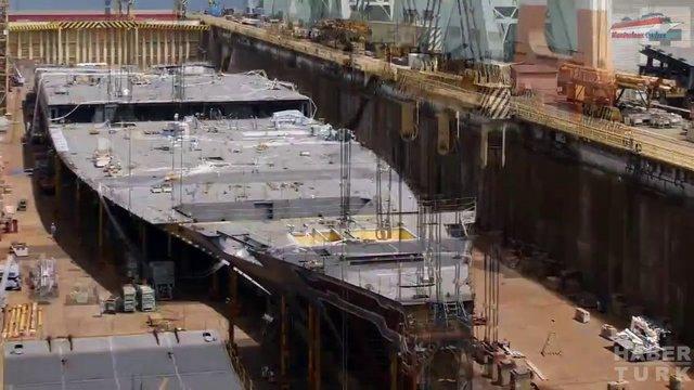 Devasa gemiler böyle yapılıyor! galerisi resim 8