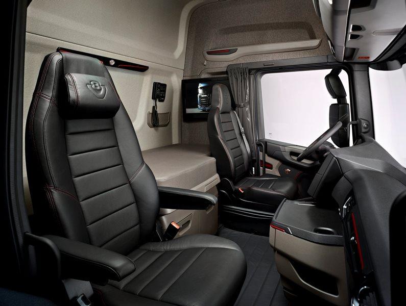 Scania, 2 milyar € harcadı, geleceğin aracını üretti galerisi resim 13