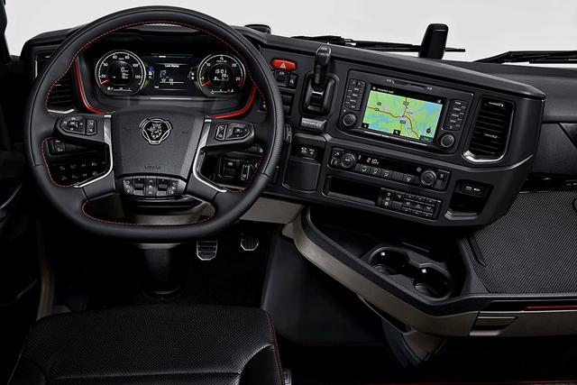 Scania, 2 milyar € harcadı, geleceğin aracını üretti galerisi resim 18