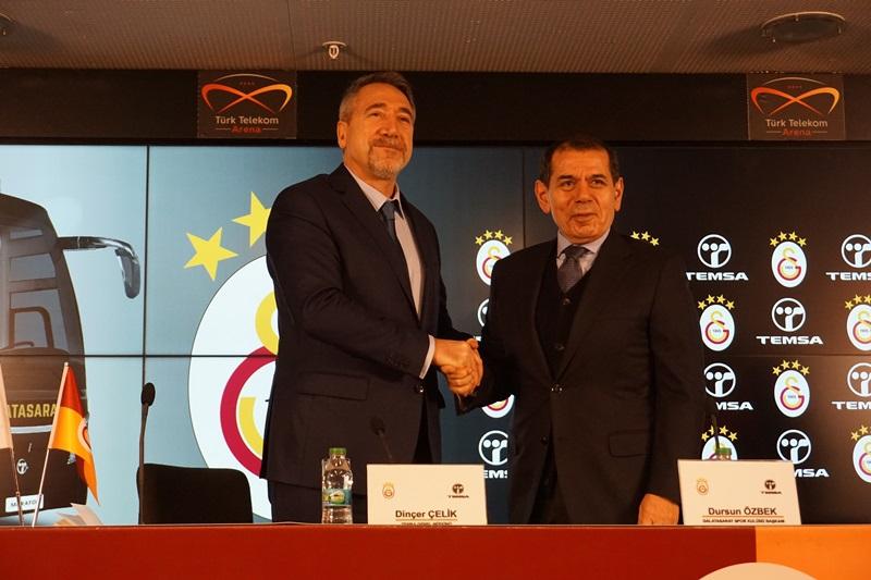 Galatasaray'ı şampiyonluğa TEMSA taşıyacak galerisi resim 2