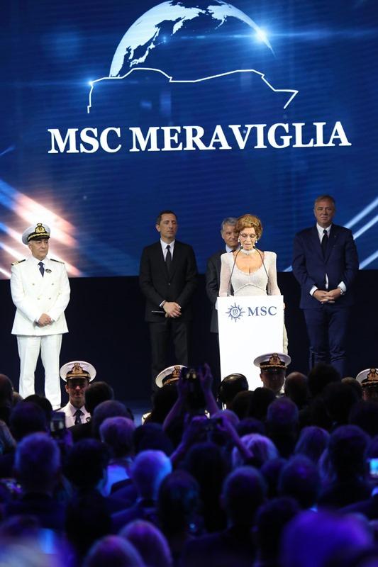 """MSC, """"Dünyanın 8. harikası""""nı denize indirdi galerisi resim 9"""