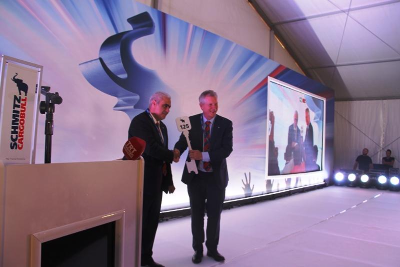 Schmitz Cargobull Türkiye'deki fabrikasını açtı galerisi resim 18