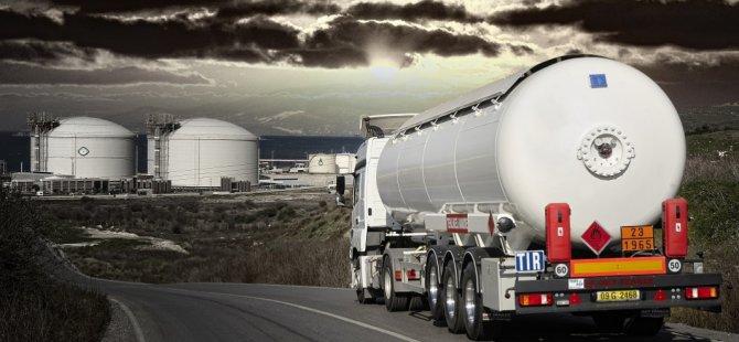 Doğalgaz olmayan yerlere araçlarla LNG taşınacak