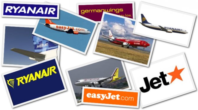 Ucuz havayolları 10 yılda pazar paylarını % 67 artırdı
