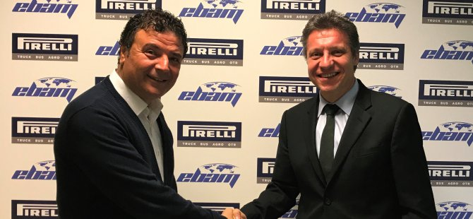 Pirelli, Ebam Nakliyat ile kilometre başına anlaştı