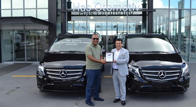 Mercedes'ten Ülger Turizm'e 16 adet Vito Tourer