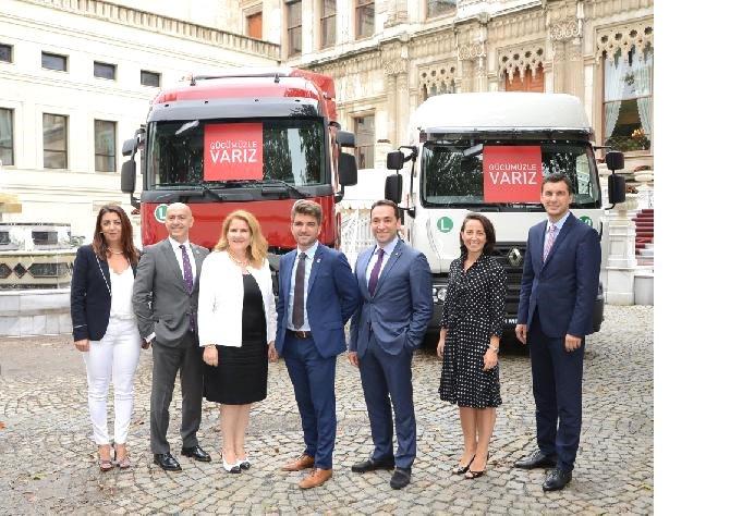 Renault Trucks, Türkiye'de ilk üçü hedefliyor