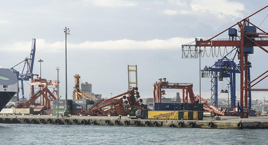 Haydarpaşa Limanı kapandı…Zarar büyük