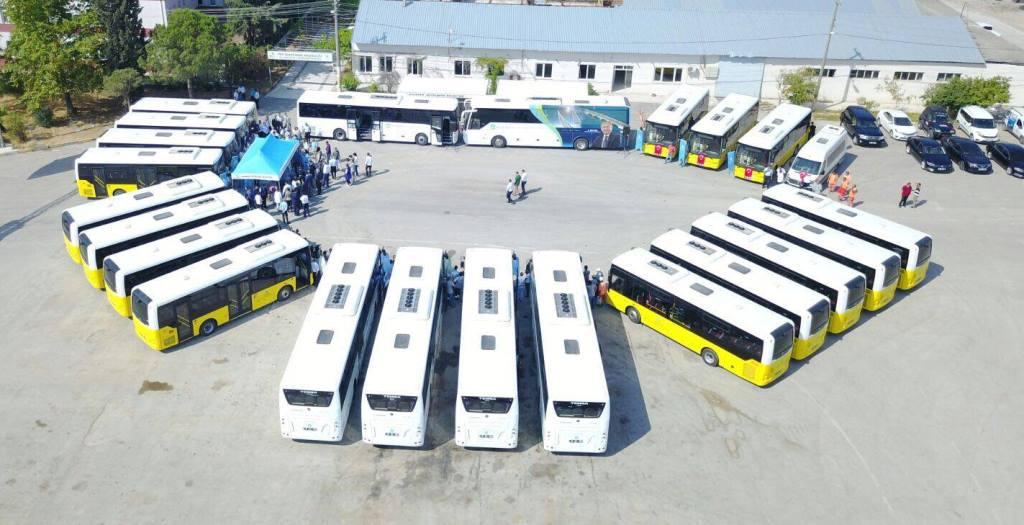 Balıkesir ulaşımına 21 TEMSA otobüs