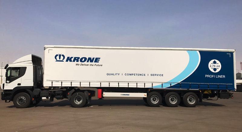 Krone, Tire'den ihracata S. Arabistan'ı da ekled