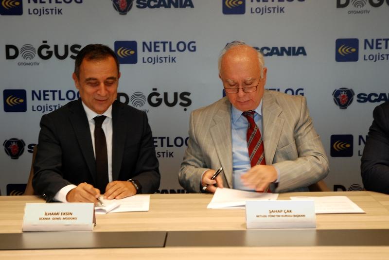 Netlog, Scania ile anlaştı: 100 araç alıyorlar