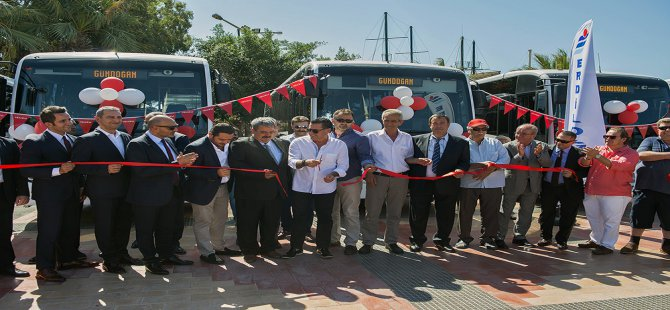 Anadolu Isuzu'dan Bodrum'a 50 adet midibüs