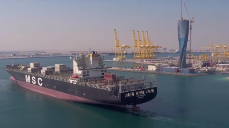 MSC'nin Türkiye ile Katar arasındaki konteyner köprüsü