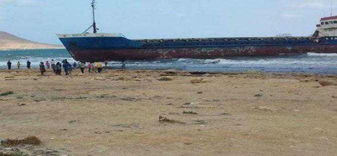 Mısır hayalet geminin sahiplerini arıyor