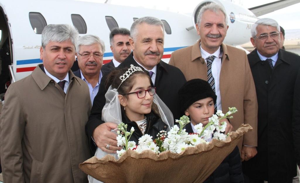 Arslan: BTK treni 30 Ekim'de Kars'ta olacak