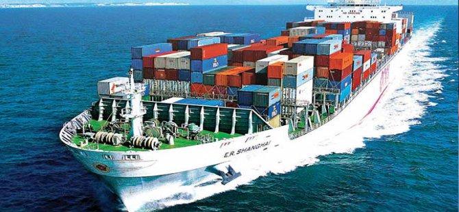 Türkiye'nin yükünü gemiler taşıdı