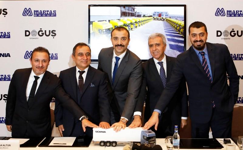 Martaş Group, 100 yeni nesil Scania aldı