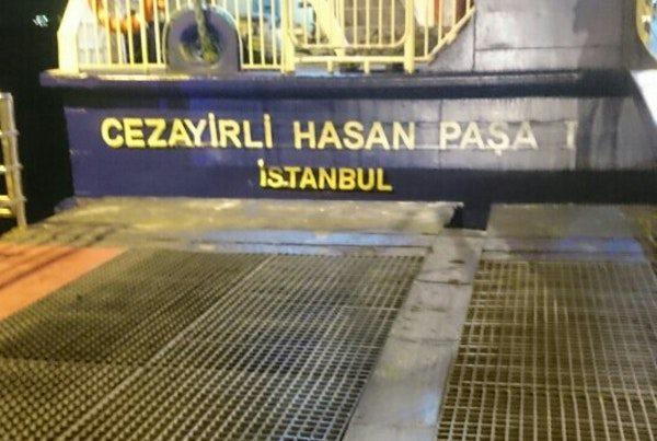 Cezayirli Hasan Paşa feribotu Yunanlılara satıldı