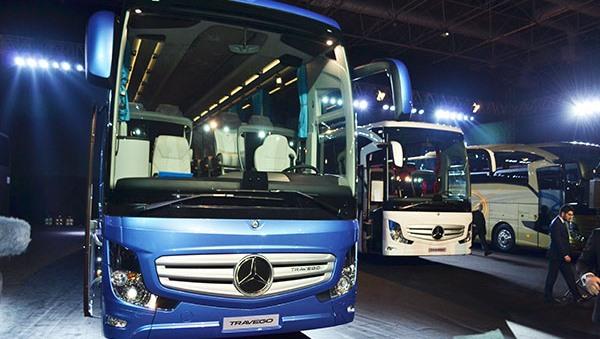 Mercedes otobüs teslimatları ekimde de hız kesmedi