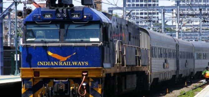 Hindistan'dan 1 milyon istihdam yaratacak demiryolu yatırımı