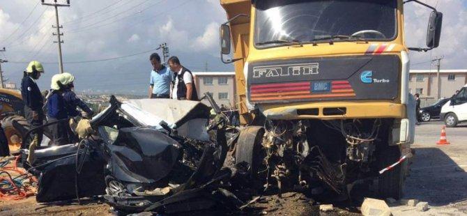 Her yıl 1,25 milyon kişi trafik kazalarına kurban