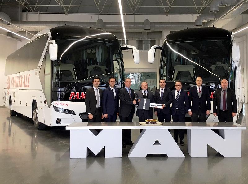 Pamukkale, 41 adet yeni nesil 2+1 VIP otobüs aldı