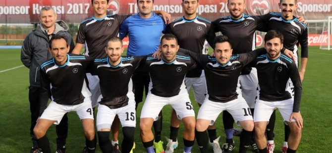 Mercedes-Benz Türk  TFF Sponsor Kupası 2017'ye katıldı