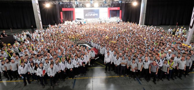 Toyota Sakarya'da ihracat rekoruna imza attı