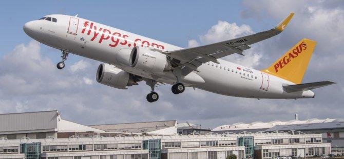 Pegasus 25 adet uçak siparişi verdi