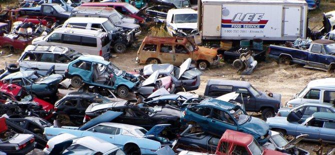 4 bin 645 araç hurdaya ayrıldı