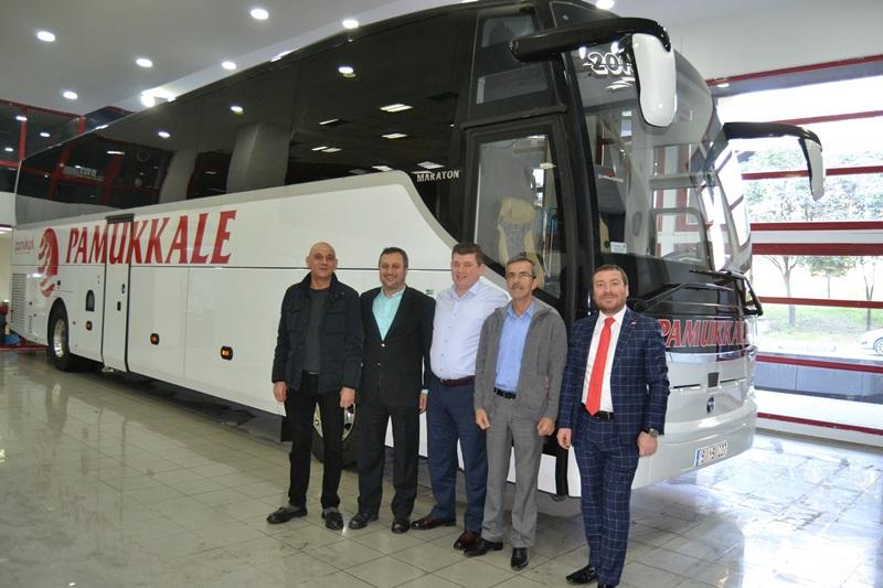 Pamukkale Turizm filosu TEMSA ile genişliyor