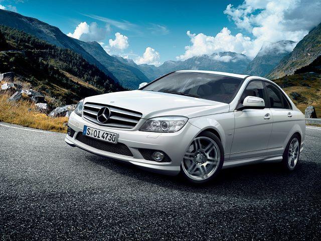 Mercedes C serisi tanıtım ve çarpışma testi