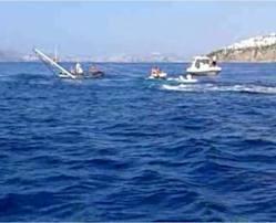 Lüks tekne göz göre göre battı