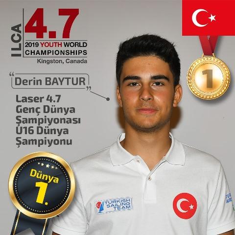 Derin Baytur Dünya Şampiyonu…