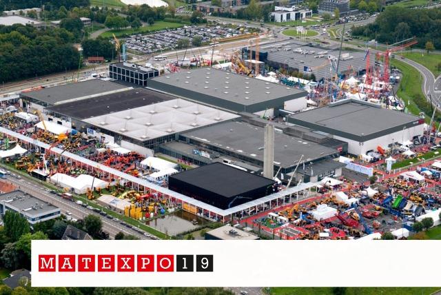 DAF, inşaat ekipmanları ile Matexpo sergisinde