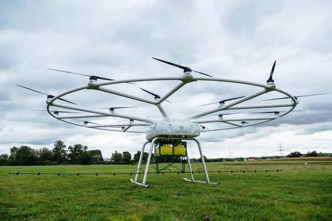 Bu drone, 200 kilogram taşıyabiliyor