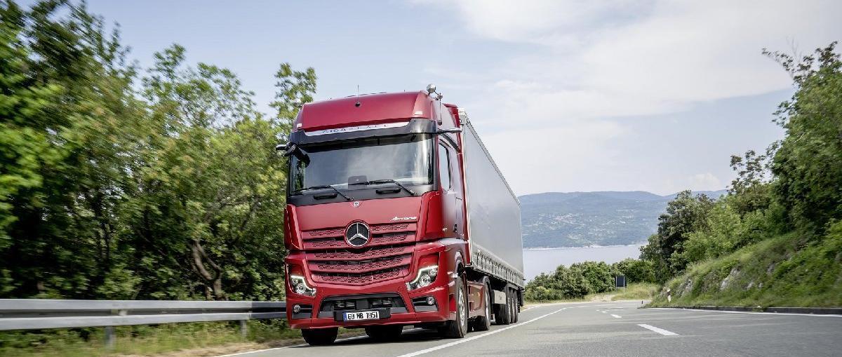 Mercedes, kamyonda yılı zirvede tamamladı