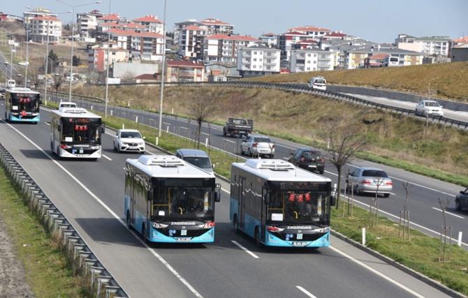 Karsan'dan Mersin'e 73 otobüs